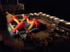 Bouncy castle party hangover